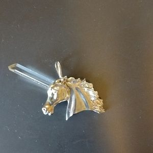 Jewelry - Unicorn with Crystal Horn Pendant